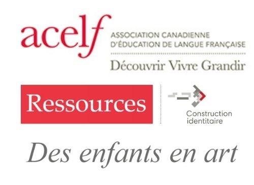 Logo ACELF - Des enfants en arts